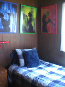 部屋③ BLUE PLAID ROOM