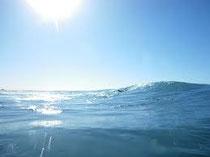 サーフィンを楽しんだ海