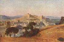 Le Fort Saint André par Jean-Baptiste Camille COROT
