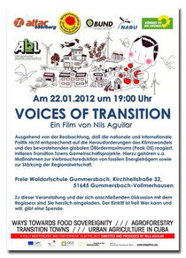 Voices of Transition Filmplakat