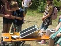 mobile Solarmodule