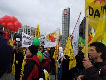 Aufruf zur Wende in Berlin