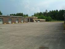 Eingangsbereich Depotgelände