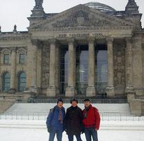 v.l.n.r. K. Schweim, W. Stratmann, M. Blumberg