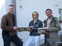 Familie Schoeler mit Stefan Heitmann, NABU