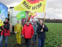 Klimabündnis auf der Gorleben-Demonstration 2010