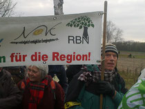 Oberberger Demonstranten
