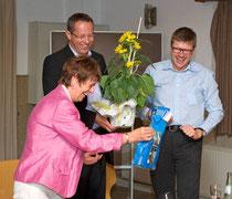 Verabschiedung der Referenten - von links nach rechts: Karin Vorländer – Guido Wendeler – Thomas Willmer