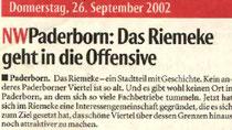 NW Paderborn, 26.09.2002