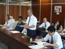 第1回県教委交渉(5月24日=岐阜県教育委員会)