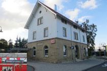 Bahnhof Bondorf in der Nähe der Ferienwohnung Günthner Elisabeth