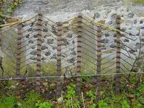 Plaque allemande d'envol, provenant de l'aérodrome allemand de CONCHES (27)