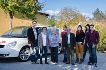 Our Team in 2013: f.l.t.r. Andreas Geyer, Silvia Geyer, Elfriede Mayer, Karin Pichlmayer, Ing. Josef Mayer, Jasmin Schrank, Jeannine Pichler, Hakon Pichler