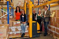 Our team 2010: f.l.t.r. Jeannine Pichler, Karin Pichlmayer, Josef & Elfriede Mayer, Andreas Geyer
