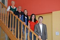 Our Team 2010: f.l.t.r. Elfriede Mayer, Josef Mayer, Karin Pichlmayer, Jeannine Pichler, Andreas Geyer