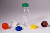PET-bottle 0,25 l with screw caps
