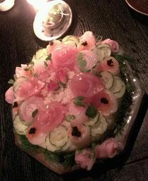 メニューにはないお寿司のケーキ