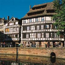 Alte Gerberhäuser in Straßburg