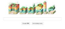 Googleのtopは面白いなぁ