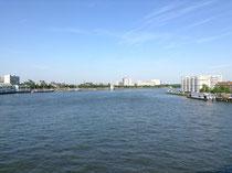Willemsbrugからの眺め