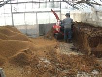 もみ殻と米糠の有機醗酵肥料