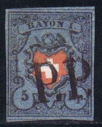 CH 15 II    Mi.Nr. 7 II