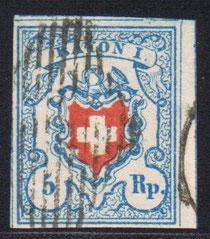 CH 17 II    Mi.Nr.: 9 II