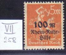 DR 258 VII