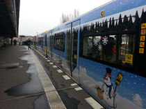 Weihnachtszug der BVG