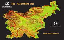 Streckenverlauf in Slovenien