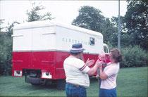 In 1978 geboren in het circus van mijn ouders.