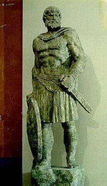 kip bosanskog vojskovodje Batona, koji je godine seste po Kristu krenuo na Rim sa 200.000 ratnika zbog rimskog provociranja na nasim granicama.