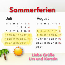 Sommerferien 2021