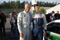 Manuel mit RTL-Formel 1 Experte Christian Danner