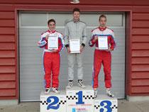 Freddy Killensberger erreicht den 1. Platz beim Nachwuchs-Sichtungslauf der Formel Lista Junior/Formel BMW