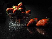 Erdbeeren-Stillleben