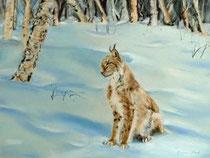 Luchs-im-Schnee