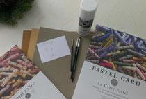 Pastellmaterial-Porträtmalerei