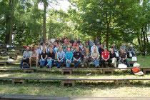 Gruppenfoto der gemeinsamen Tagung (Foto: C. Tinapp)