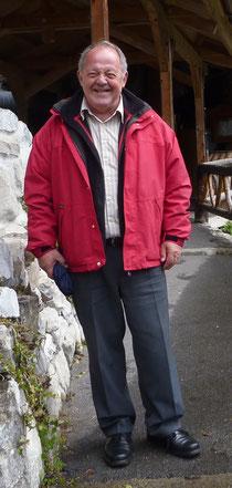 Der bartlose Christian Schlüchter am Tag nach seiner Abschiedsvorlesung. Foto: M. Böse