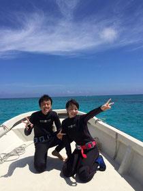 あおいろクジラ 体験ダイビング ヨロン