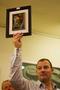 Versteigerung des Ismael Nery für 73.000€ nach Brasilien. Uuups, ganz schön kleines Gemälde. :-)