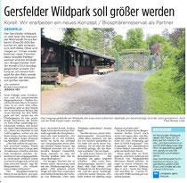 Am 07.06.2017 in der Fuldaer Zeitung