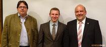 Jürgen Melchers, ich und MdL Markus Meysner