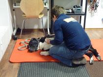 Physiotherapie bei Anita