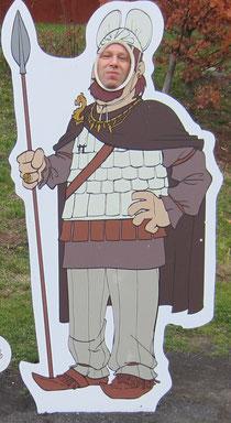 Der Lanvall als Keltenfürst (Keltenwelt am Glauberg)