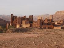 Kasbah de Tamdakht près de Ouarzazate