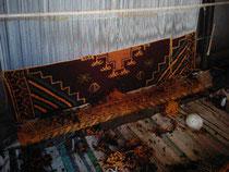 Tissage de tapis