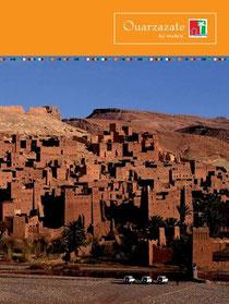 Plaquette touristique de Ouarzazate