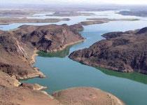 Lac barrage de Ouarzazate
